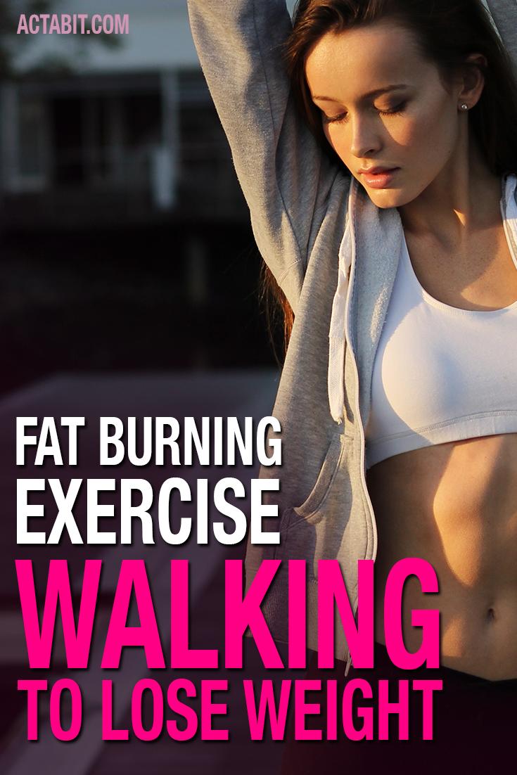 Walking to lose weight. Burn fat by walking