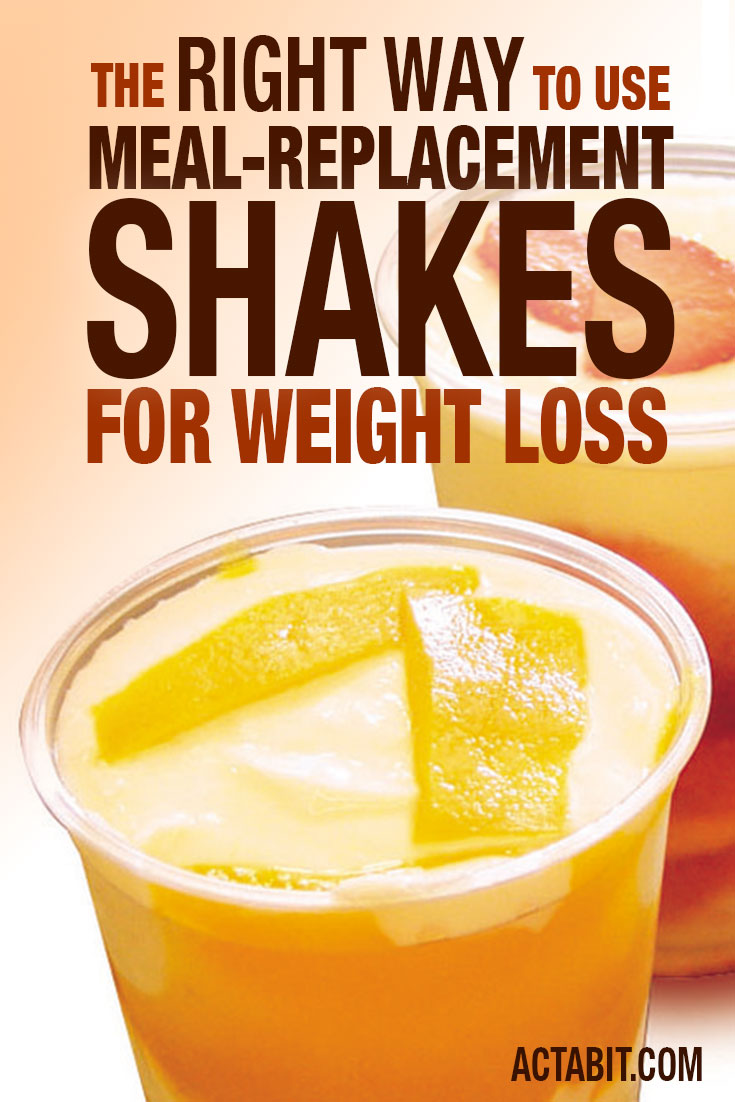 The RIGHT Way to Use Meal-Replacement Shakes for Weight Loss