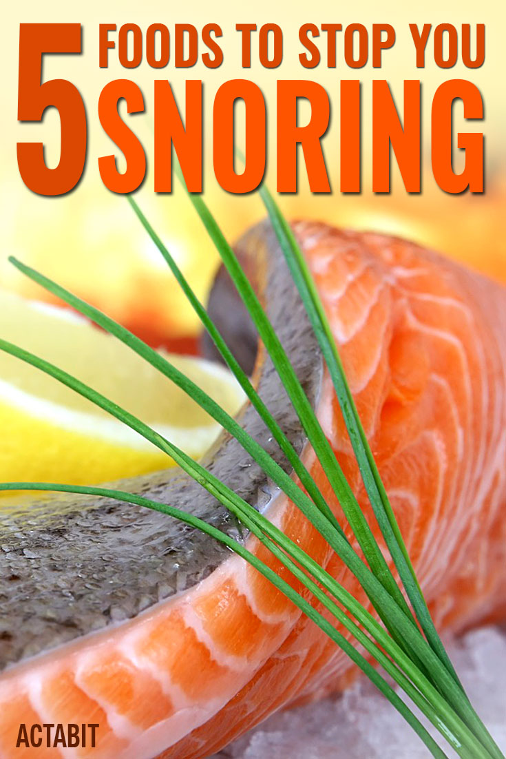 Foods to Stop You Snoring