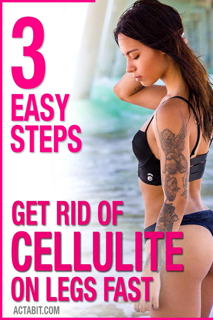 Get Rid of Cellulite on Thighs and Legs Fast