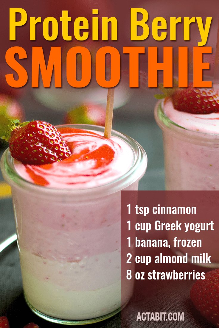 Protein Berry Blast - Weight Loss Smoothie Recipe