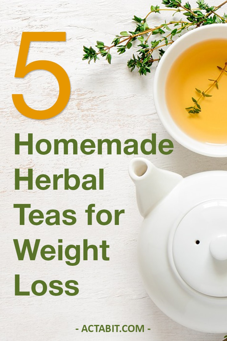 5 Homemade Herbal Teas for Weight Loss. Herbal tea has many heath benefits: it may enhance weight loss and help fight belly fat. Check how to make weight loss tea at home.
